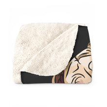 Load image into Gallery viewer, Custom Pet Sherpa Fleece Blanket