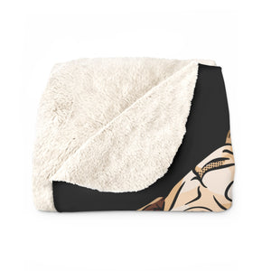 Custom Pet Sherpa Fleece Blanket