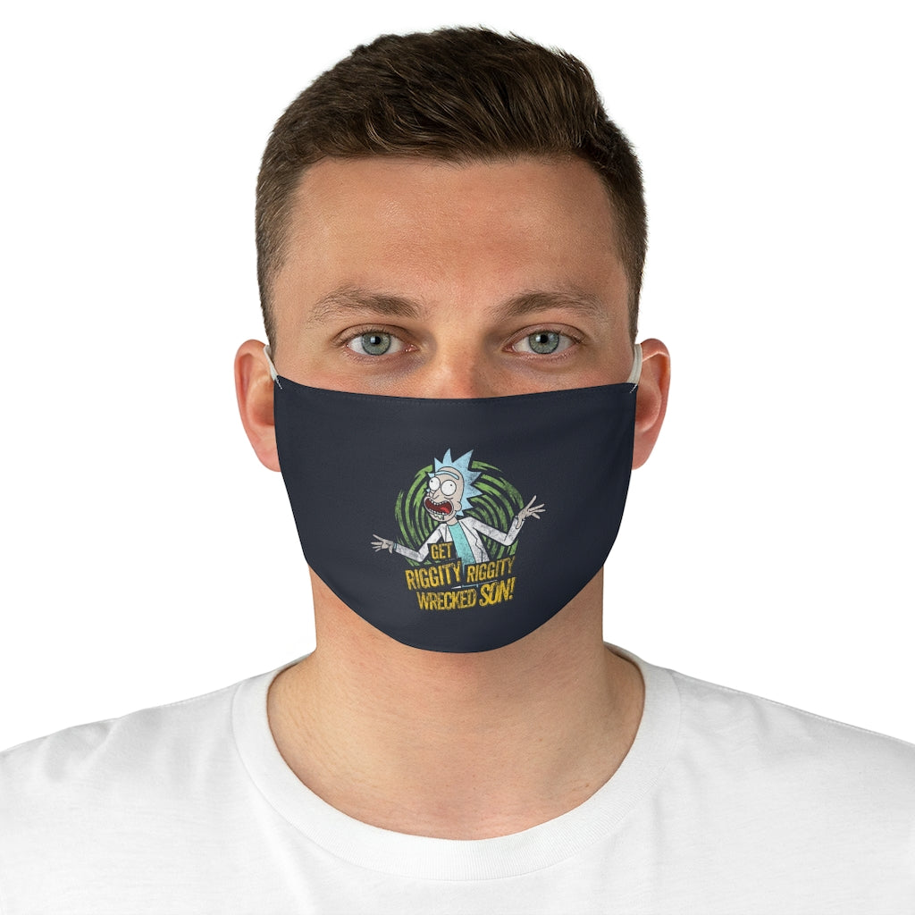 Rick and Morty Face Mask, Protective Dust Mask, Washable and Reusable