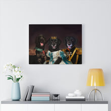 Load image into Gallery viewer, One Big Happy Family  - Custom Pup Canvas