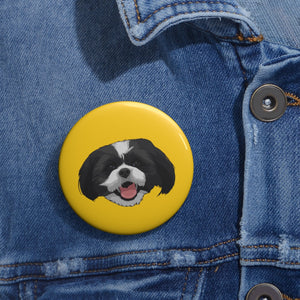 Yellow Pin Button
