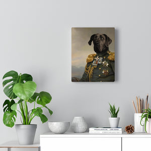 The Commander - Custom Pup Canvas