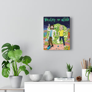 Custom Canvas Gallery Wrap | Print Your Artwork on a Canvas| VERTICAL