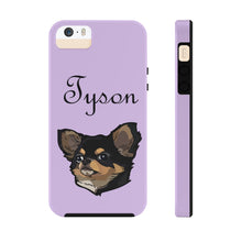 Load image into Gallery viewer, Custom Lilac Pet Art Phone Case