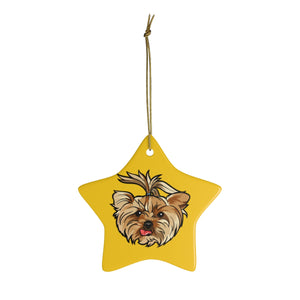 Yellow Ceramic Ornaments