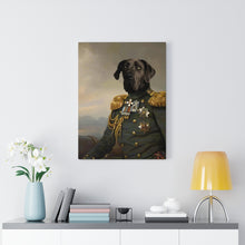 Load image into Gallery viewer, The Commander - Custom Pup Canvas