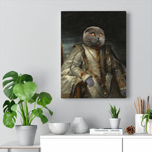 Load image into Gallery viewer, Boss of the House  - Custom Pup Canvas