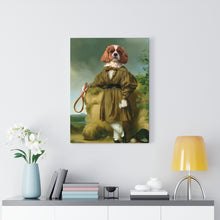 Load image into Gallery viewer, Historic Tennis Player  - Custom Pup Canvas