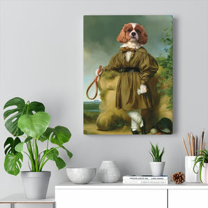 Historic Tennis Player  - Custom Pup Canvas
