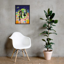 Load image into Gallery viewer, Custom Framed Poster | Upload Any Artwork | Personalized Framed Poster
