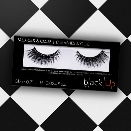 Faux-cils Courbure Indescente - Black Up