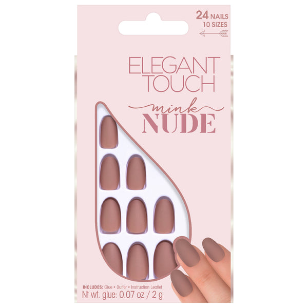 Ongles Collection Nude Mink - Elegant Touch