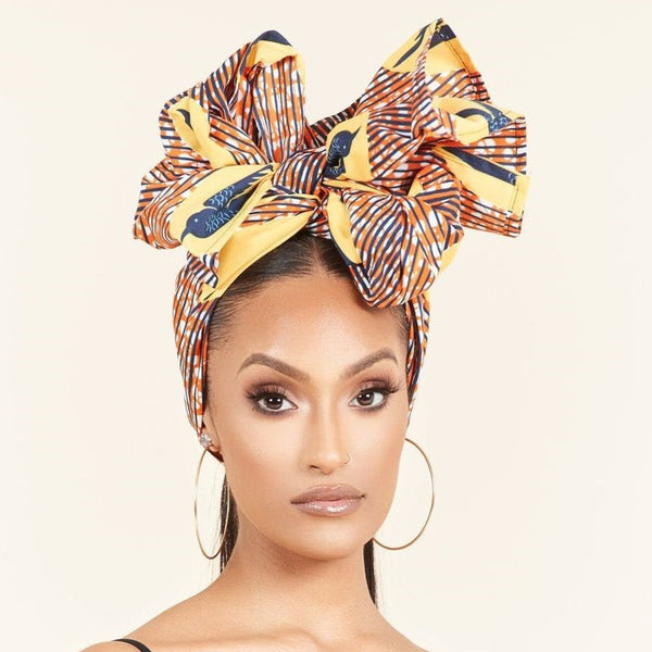 Laeticia Headwrap - Grass Fields
