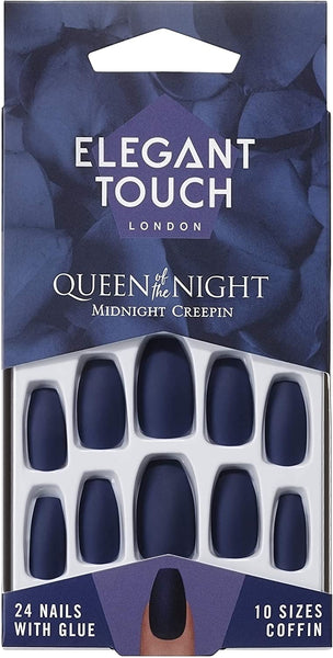 Nails Queen of the Night Midnight Creepin' - Elegant Touch