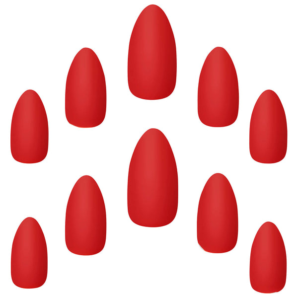 Polished Core Nails Red Alert - Elegant Touch