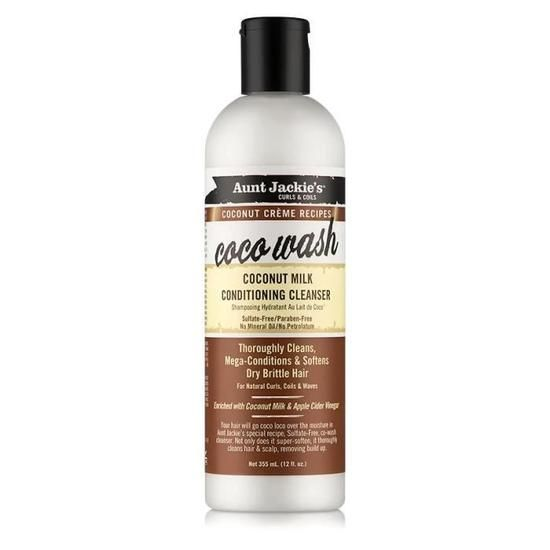 Coco Wash Coconut Milk Conditioning Cleanser - Aunt Jackie's