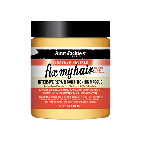 Fix My Hair Intensive Repair Conditioning Masque - Aunt Jackie's