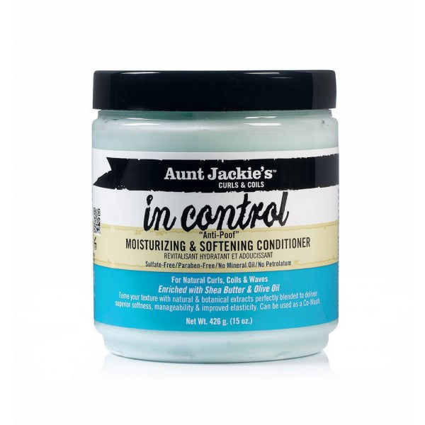 In Control Moisturizing & Softening Conditioner - Aunt Jackie's