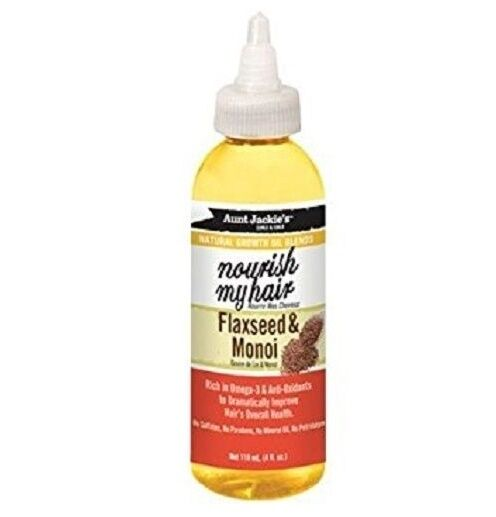 Nourish My Hair Flaxseed & Monoi Oil - Aunt Jackie's