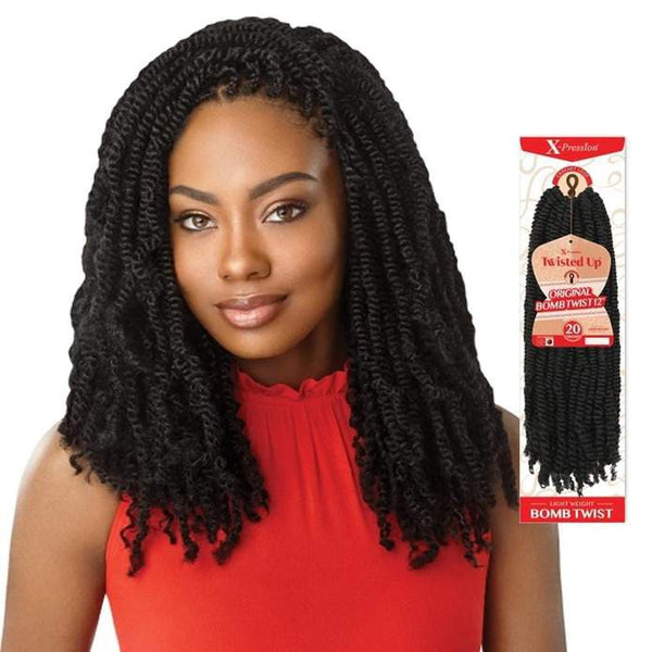 "Original Bomb Twist Crochets 18"" - Outré Hair"