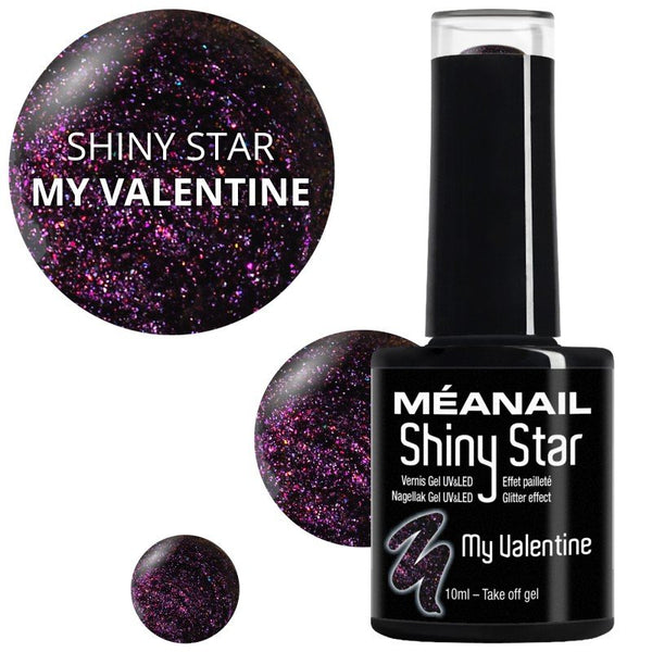 Shiny Star My Valentine - Méanail Paris