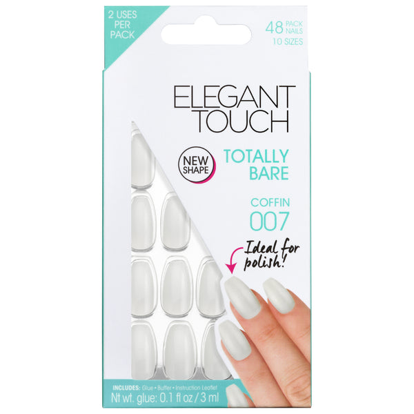 Ongles Totally Bare Coffin 007 - Elegant Touch