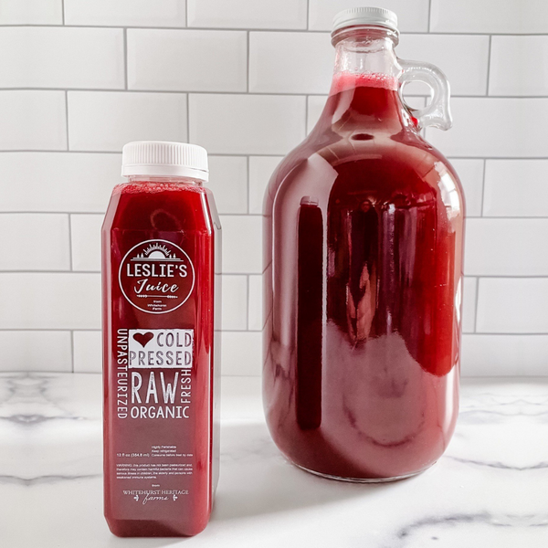 Whitehurst Heritage Farm Cold-Pressed Juice Winning at Life Leslie's Juice