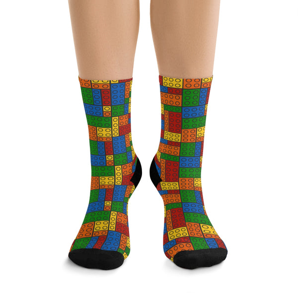Building Blocks Multicolored Socks - Not Bad Gifts