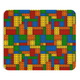 Building Blocks Multicolor Mousepad - Not Bad Gifts