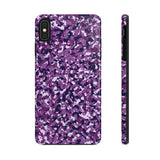 Purple Camo Case Mate Tough Phone Cases - Not Bad Gifts