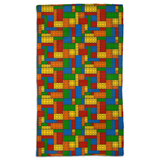 Building Blocks Multicolor Hand Towel - Not Bad Gifts