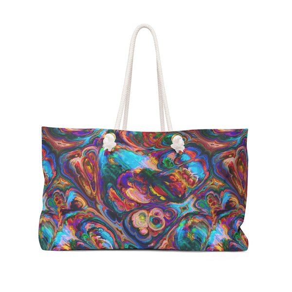 Rainbow Geode Weekender Bag - Not Bad Gifts