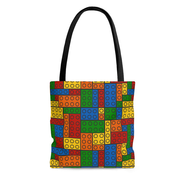 Building Blocks Multicolored Tote Bag - Not Bad Gifts
