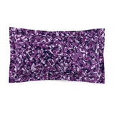 Purple Camo Microfiber Pillow Sham - Not Bad Gifts