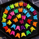 20/50/100PC Butterfly Hair Clips Grip Claw Barrettes Mixed Color Mini Clamps Jaw Hairpin Headdress Hair Styling Accessories Tool - Not Bad Gifts