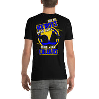 HEROES WEAR COLLARS *front and back print* short-sleeve unisex t-shirt