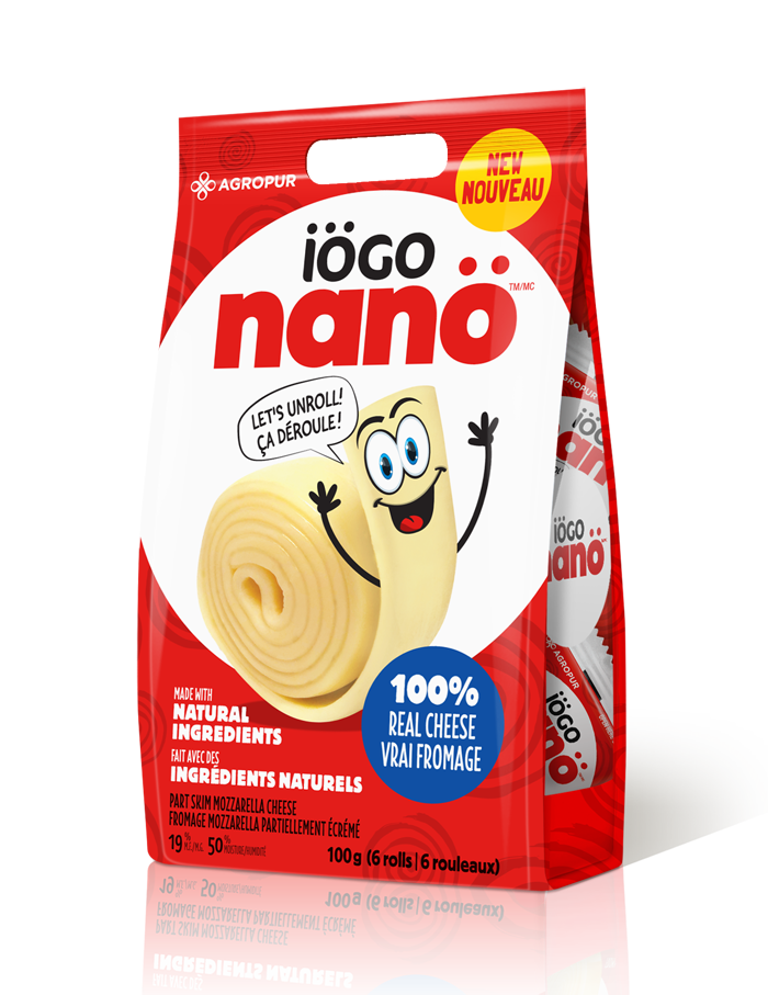 Iogo Nano - Mozzarella Cheese Rolls
