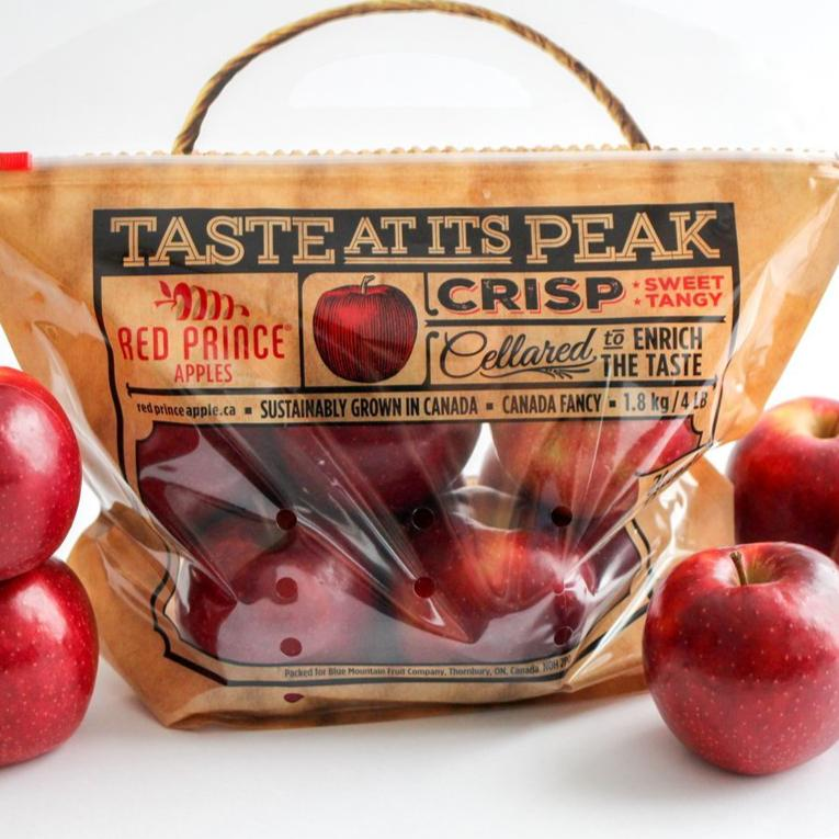 Apples - Red Prince- Local ONT  (3lb Bag)