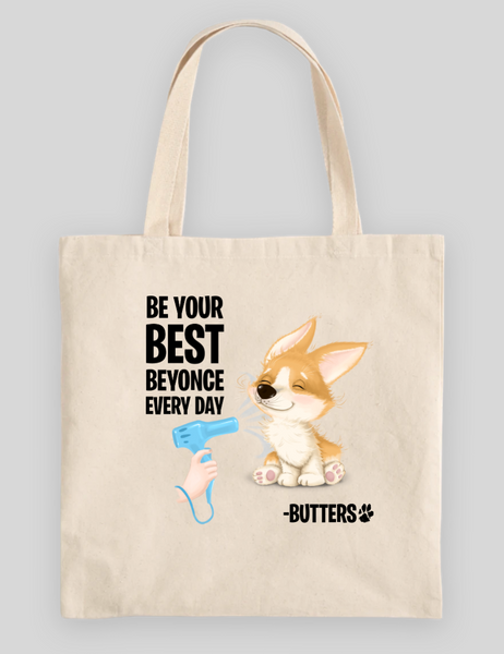 Be Your Best Beyonce 100% Cotton Canvas Tote