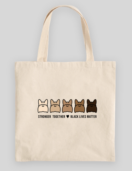 Stronger Together 100% Cotton Canvas Tote