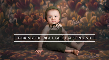 Picking the Right Background for a Fall Photo Session