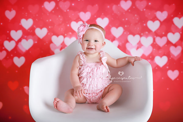 Valentine's Day Photography Backdrop Background Valentine's Photo Props