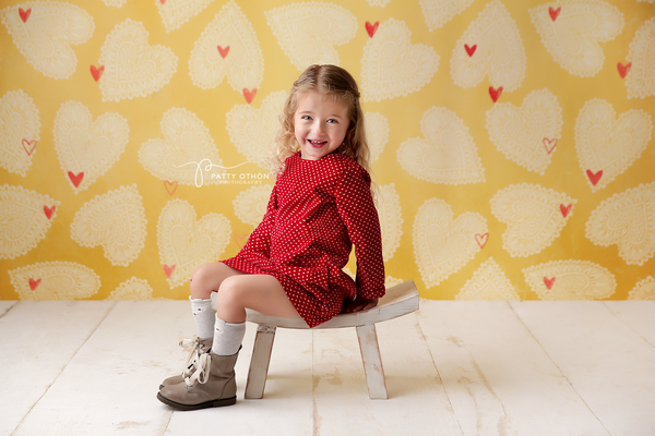 Sweetheart Valentine's Day Photography Backdrop Backdground