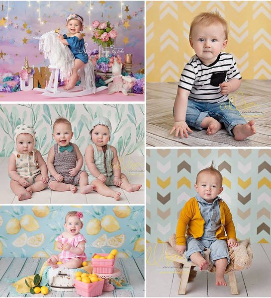 Spring Photography Backdrops Newborn Photo Props Baby