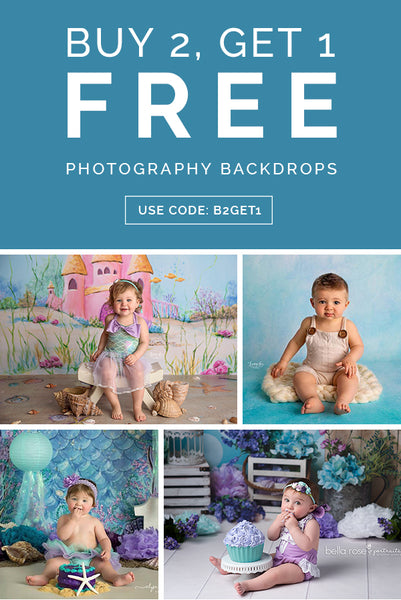 Buy 2, Get 1 Free Photography Backdrops