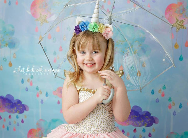 unicorn photography backdrop rainbow photography background