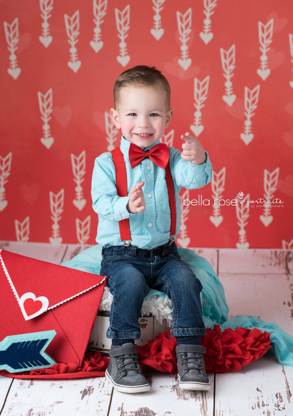 Crazy for You backdrop for Valentine's pictures