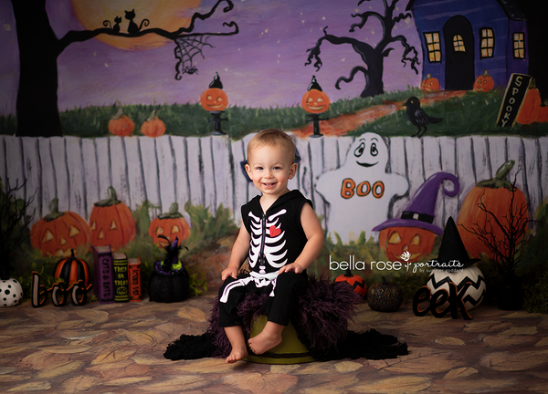 Halloween Photography Backdrop for Kids