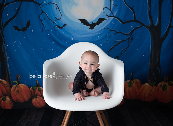 Spooky Halloween Photo Backgrounds for Kids