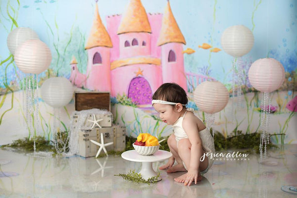 Cake smash props and photo backdrops